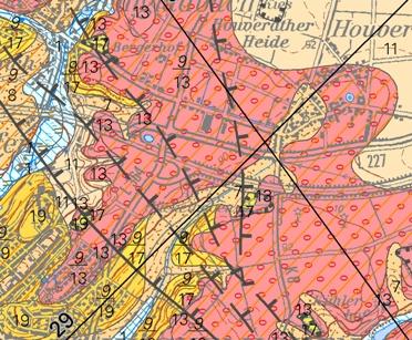 Geologische Karte Ruhrgebiet.Gd Nrw Informationssystem Geologische Karte Von Nrw 1 50 000